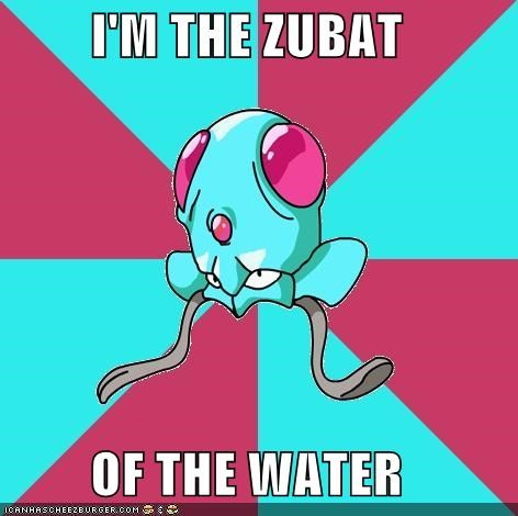 annoying pest repel tentacool zubat - 4912438784