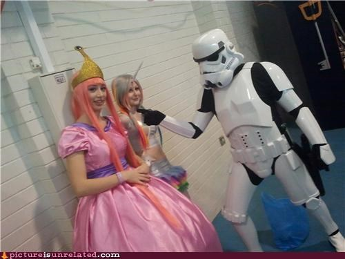 costume,princess,star wars,stormtrooper,trooper,wtf