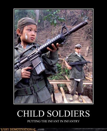 bad idea infantry kids Sad soldiers - 4912615168