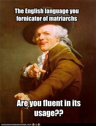do you speak it english Joseph Ducreux pulp fiction Samuel L Jackson - 4912850688