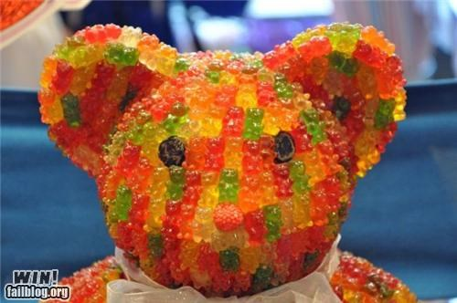 bears candy delicious gummy bears meta sculpture - 4913145088
