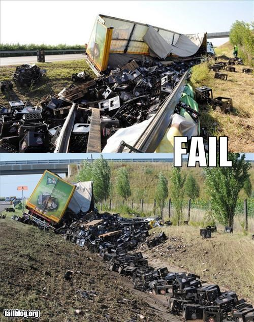 beer crash failboat g rated Professional At Work truck - 4913485312