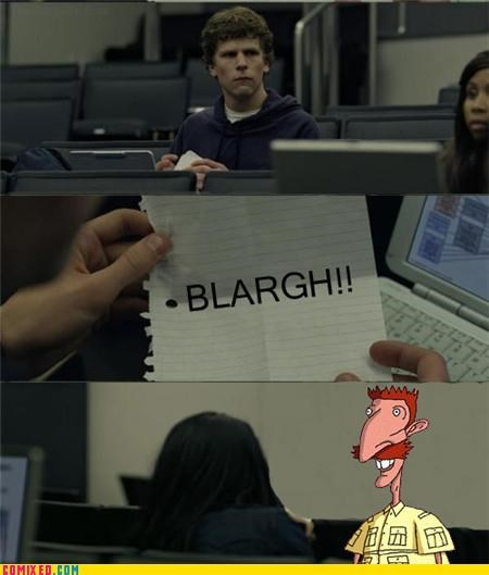 blargh facebook Mark Zuckerburg nigel the internets The Wild Thornberrys - 4913521920