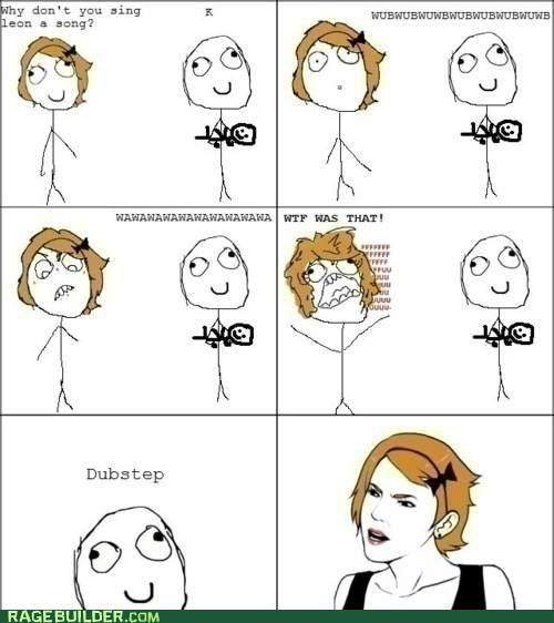 baby dubstep Rage Comics song - 4913924864