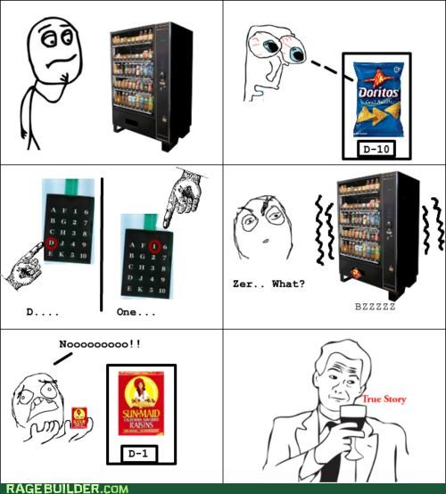 Rage Comics raisins true story vending machines