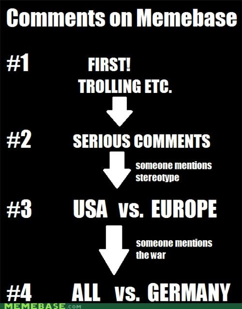 america countries fighting first german Memes srs trolling