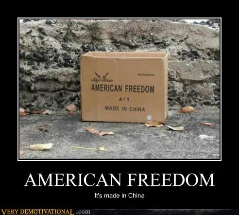 america China freedom hilarious