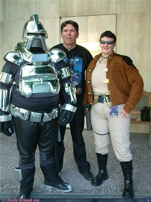 Battlestar Galactica cosplay costume cylon - 4914059776