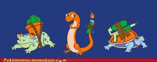 bulbasaur charmander IRL squirtle - 4914078208