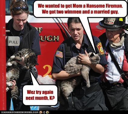 firemen Hall of Fame lolcats political pictures - 4914159616