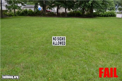 classic failboat g rated irony signs - 4914224640