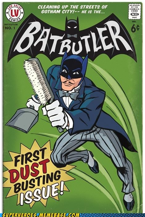 alfred Awesome Art batman butler - 4914237184