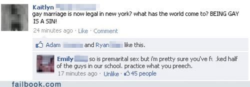 gay marriage gay rights new york oh snap religion the bible - 4914254336