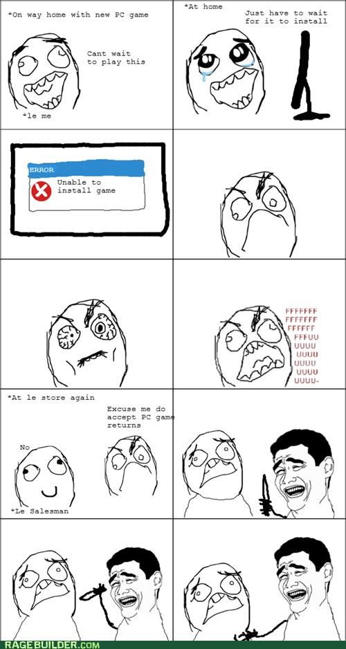 games,PC,Rage Comics,returns,yao ming