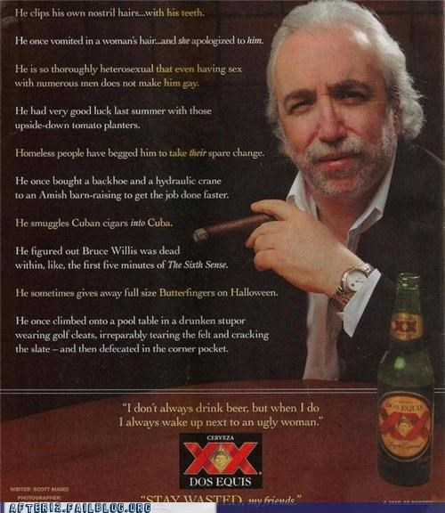 Ad,dos equis,parody,the most interesting man in the world