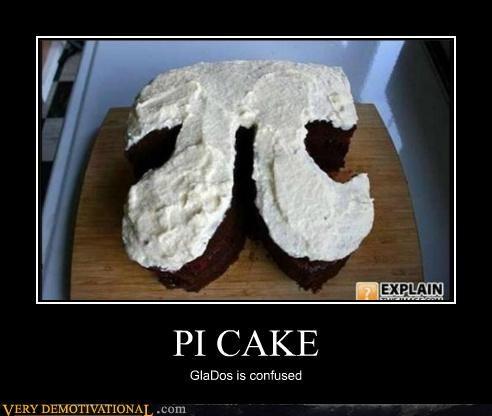 cake confused gladOS hilarious pi Portal - 4914297344