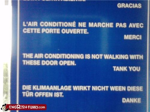 air conditioner,tanks,walking