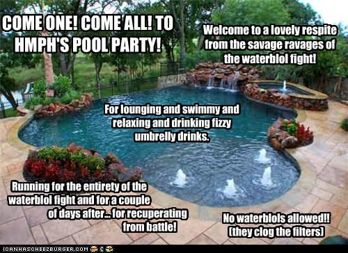HMPH'S POOL PARTY!