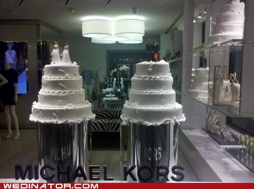 cake toppers,equality,funny wedding photos,gay marriage,michael kors