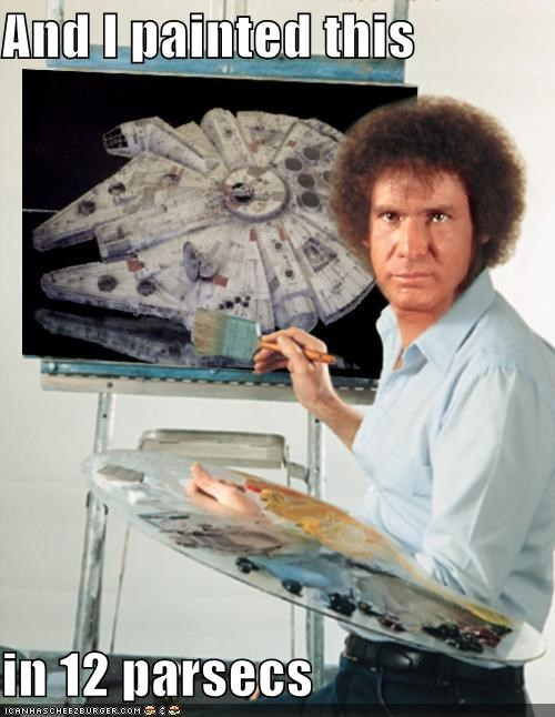 actor celeb fake funny Hall of Fame Harrison Ford sci fi shoop star wars