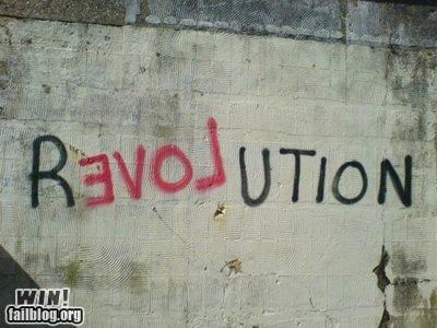 graffiti,hacked irl,love,revolution,word play