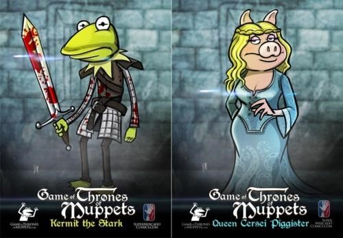 Game of Thrones,muppets,TDW Geek
