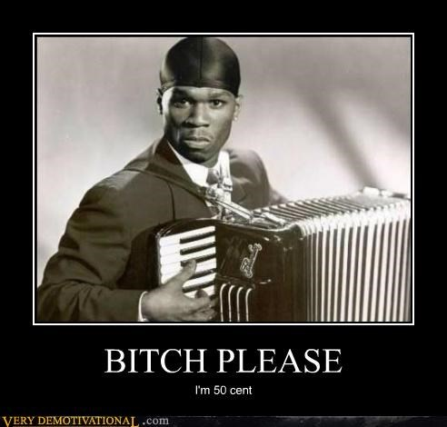 50 cent accordian Pure Awesome wtf