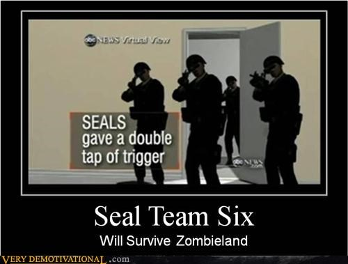 double tap hilarious navy seals Zombieland