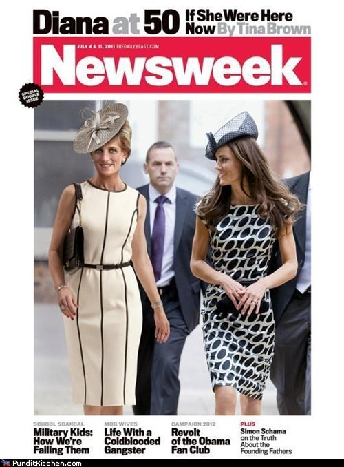 Newsweek,photoshop,political pictures,princess diana