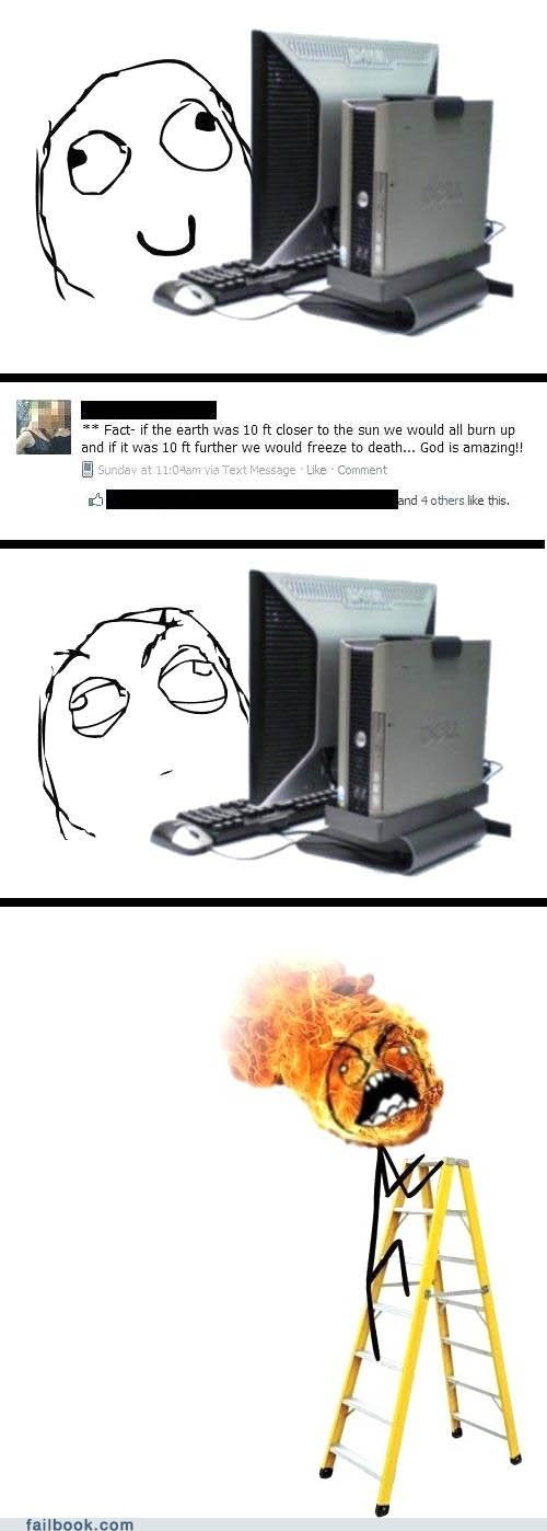 fire,rage comic,religion,science