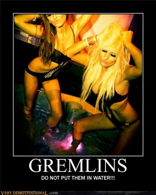 gremlins hilarious Sexy Ladies water - 4917392640
