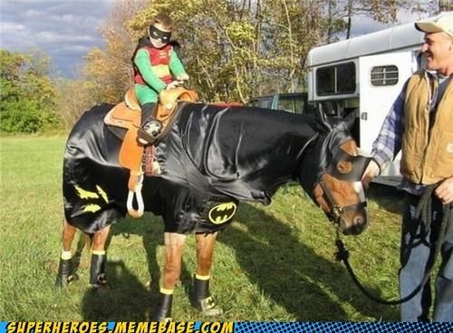 batman horse robin Super Costume - 4917441024