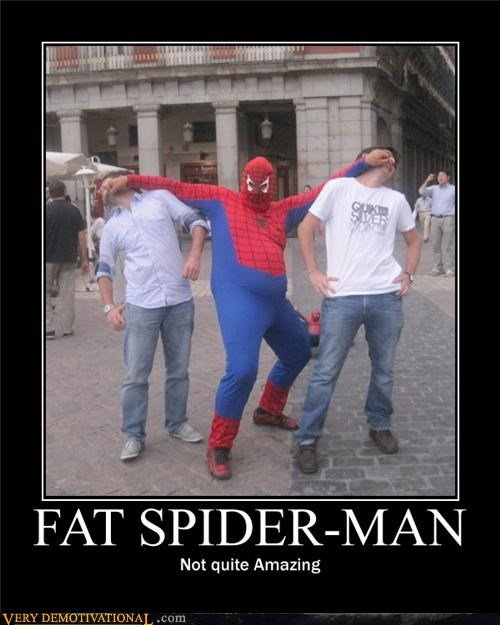 amazing costume fat Spider-Man Super-Lols - 4917476864