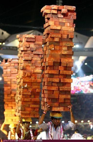 bricks heavy jenga wtf