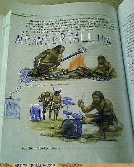 awesome,metallica,neanderthals