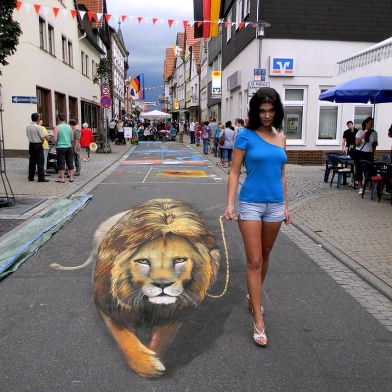 3d art painting animals - 4917765