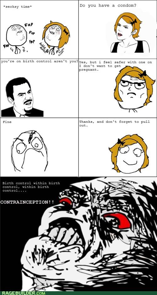 contraception Inception Rage Comics sexytimes - 4917780224