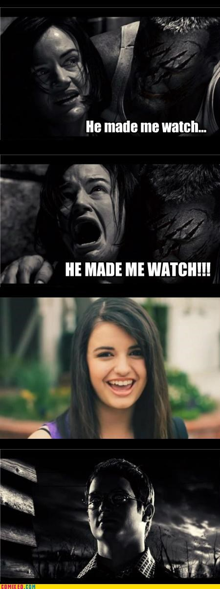 elijah wood,horror,omg,Rebecca Black,sin city,the internets