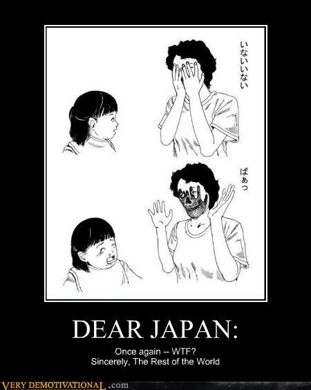 creepy dear japan drawing hilarious wtf - 4917869056
