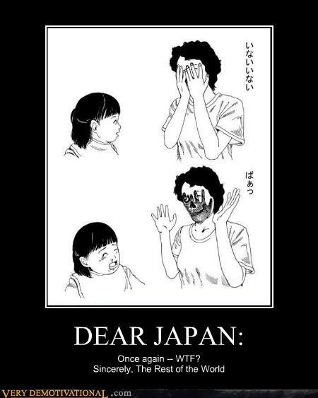 creepy dear japan drawing hilarious wtf - 4917869056