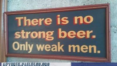 masculinity men sign strong beer - 4917921024