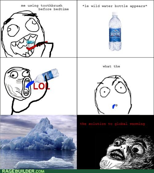 global warming,lol,minty fresh,Rage Comics,toothpaste