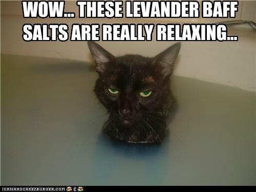 WOW... THESE LEVANDER BAFF SALTS ARE REALLY RELAXING...
