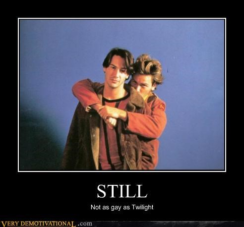 hilarious Johnny Depp keanu reeves twilight wtf
