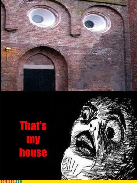 architecture bricks house inglip rage the internets