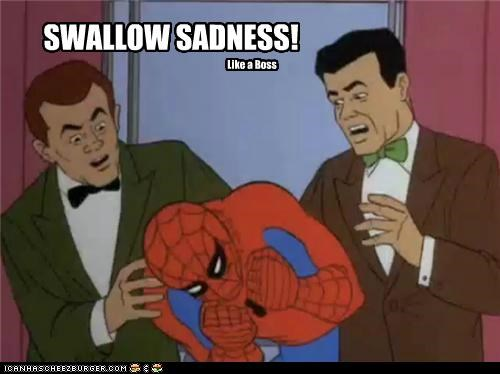 Lonely Island Spider-Man Super-Lols swallow sadness - 4919399424