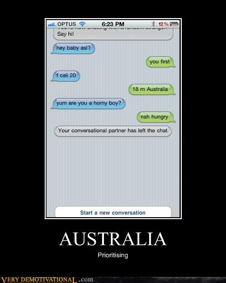australia hilarious hungry text wtf - 4919917312