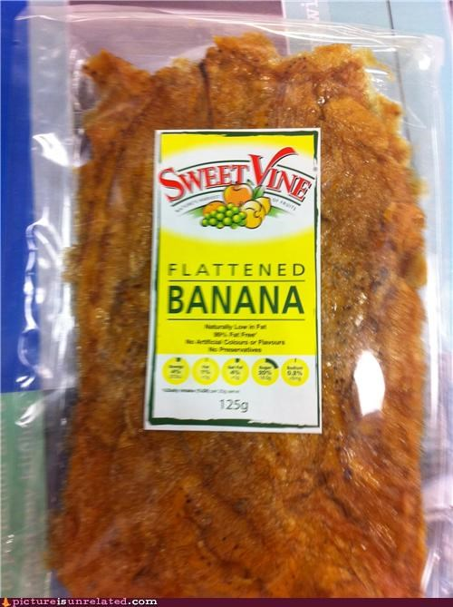 banana flat food wtf - 4919975168