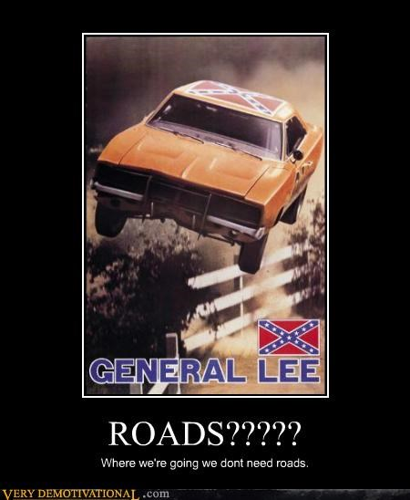 general lee,hilarious,roads