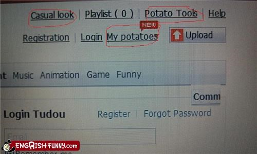 internet,potatoes